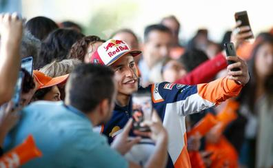 Márquez: «Tienes que estar dispuesto a caer 20 veces para ser campeón»