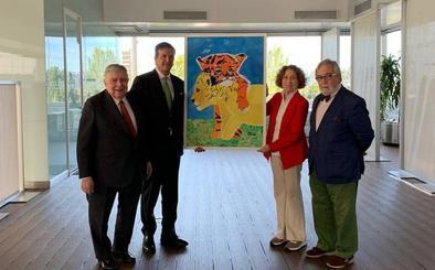 Alba Lorenzo Ferreira gana el premio BMW de pintura infantil