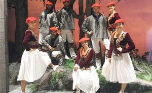 Eneko Galdos baila con Aukeran en Madrid en la zarzuela 'El Caserío'