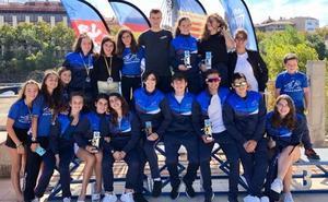 Pasaia Kayak logra en el Ebro cuatro triunfos