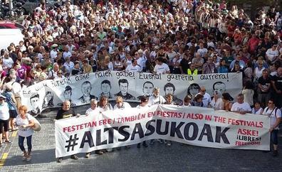 El Supremo rebaja las penas de prisión a los ocho acusados por las agresiones de Alsasua