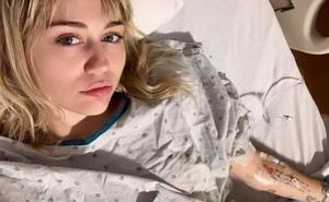 Miley Cyrus, trasladada al hospital