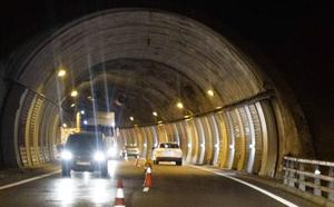 La A-15 se cortará al tráfico en ambas direcciones el viernes por la noche