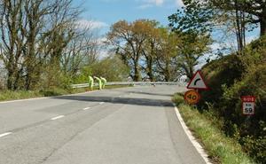 Obras Públicas arreglará parte de la carretera N-121-B