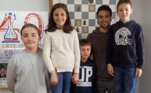 El Club Kakute Xake Taldea pone en marcha dos cursos de ajedrez para escolares