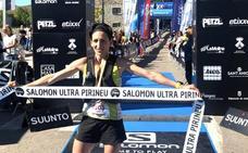 Victoria de la corredora Oihana Kortazar en la Trail Pirineu