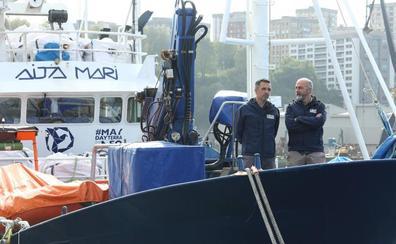 El 'Aita Mari' zarpa el miércoles al Mediterráneo