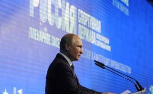 Putin aboga por «dejar en el pasado» el escándalo de dopaje ruso