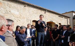 Rivera abre la puerta por primera vez a abandonar la política en caso de debacle el 10-N