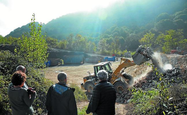 Los residuos de construcción llegan a Askape