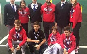 Cosecha de metales del Saioa en el Campeonato de Gipuzkoa