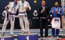 Jonathan Terrón Sánchez, campeón de Europa de 'Brasil jiu jitsu'