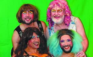«Somos cuatro trans(t)formistas bilbaínas de pelo en pecho»