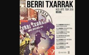 7 kontzertu berri iragarri ditu Berri Txarrak taldeak
