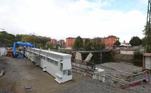 El nuevo puente de Espartxo será transitable a finales de noviembre