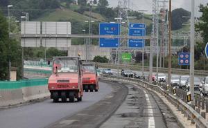 Cierre de la conexión a la N-1 desde Villabona el domingo
