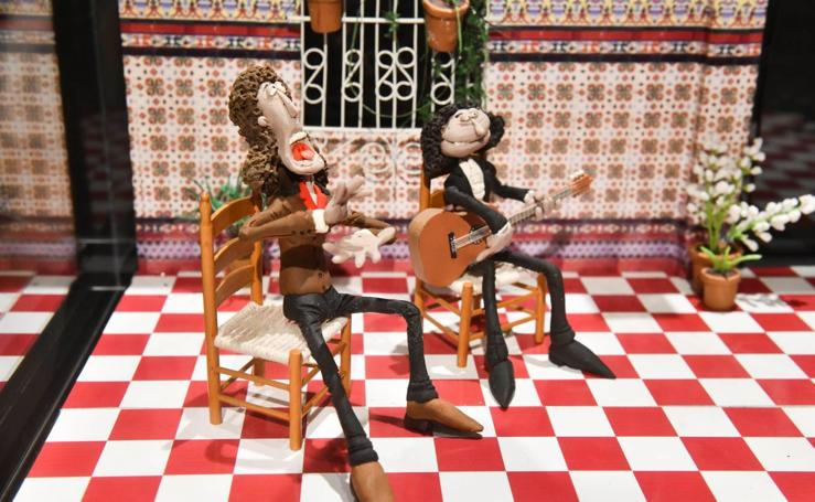 Músicos de plastilina