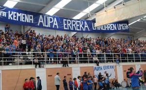 El Erreka suma ante el Universidad de Navarra su primera victoria