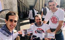 Un impulso solidario al ejemplo de superación de Joseba Azkarate