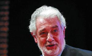 Suspendida la proyección de una gala lírica de Plácido Domingo