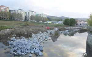 URA ha iniciado los trabajos para la recuperación ambiental de la regata de Iñurritza