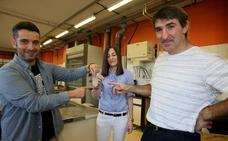 Bilgarrietarako material erabat birziklagarriak sortu dituzte EHUn