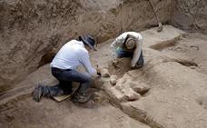 Hallan restos de un mastodonte milenario en el estado mexicano de Puebla