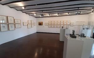 La exposición dedicada a Jorge Oteiza registró 3.000 visitas