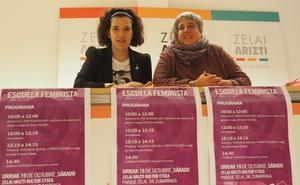 IU-Ezker Anitza propone una 'escuela feminista' para el sábado
