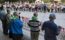 Los pensionistas se vuelven a concentrar mañana y anuncian cambios para los lunes