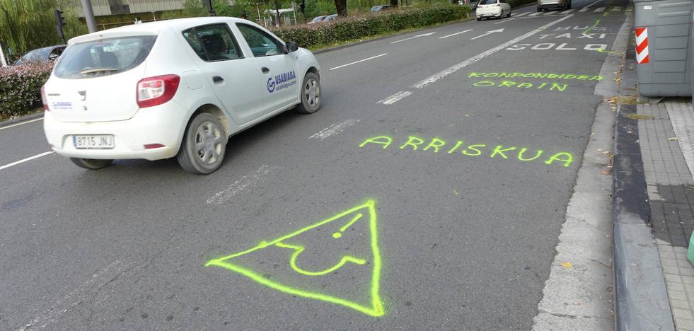 El tráfico se desviará por la avenida de Zarautz durante el asfaltado de la avenida de Tolosa
