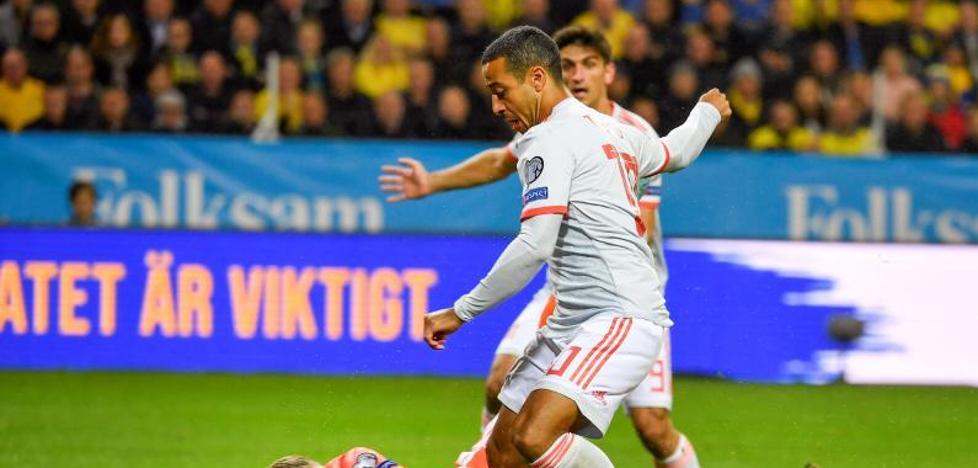Gerard Moreno, debut participativo pero sin gol