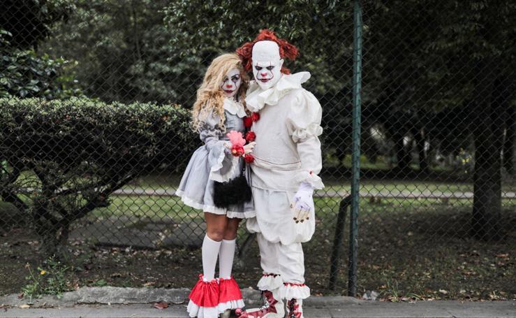 Festival de disfraces terroríficos y fantásticos en Bogotá