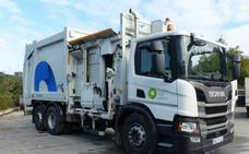 Los nuevos camiones para la basura en Tolosaldea, eléctricos y más silenciosos