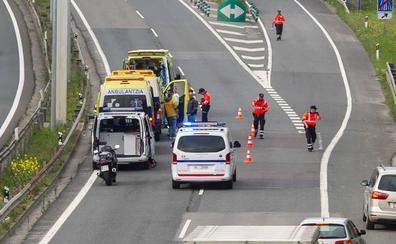 Las carreteras guipuzcoanas registran 14 fallecidos hasta septiembre