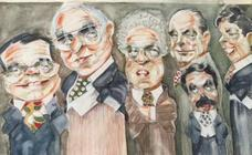 El retrato de Carlos Avallone a través de sus dibujos