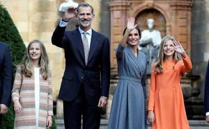 Leonor se estrena en los Premios Princesa de Asturias