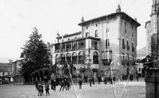 La bergaresa casa torre Olaso en el año 1920