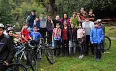 Un triatlón de movilidad sostenible para conocer el Valle de Leitzaran