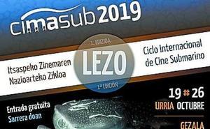 Lezo acoge el Ciclo Internacional de Cine Submarino con proyecciones, hoy y el próximo sábado 26