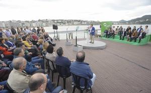 Egibar apuesta por una «fuerte» presencia del PNV en Madrid para «abrir el debate sobre el modelo territorial»