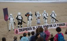 La solidaridad invade Donostia