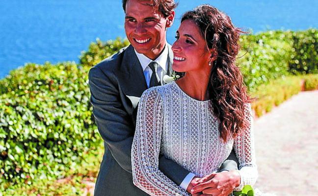 Rafa Nadal y Mery Perelló comparten fotos de su boda