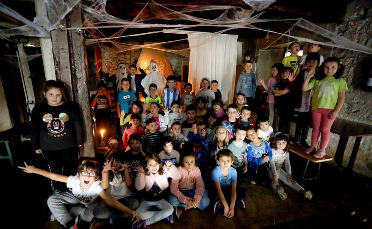 Gau beltza versus Halloween