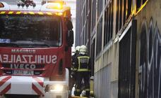 Incendio en San Sebastián