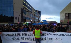 Los accesos a Bilbao vuelven a la normalidad tras los atascos por la manifestación de la concertada