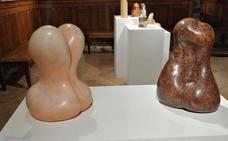 La esculturas de cerámica de Pero Lope, en Ibarraundi museoa