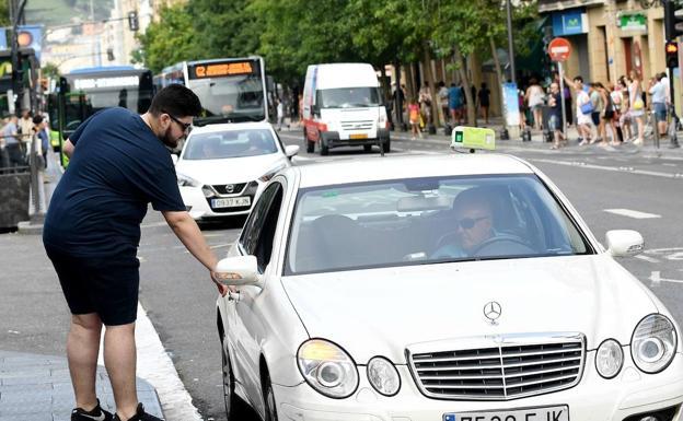 Solo subirse en un taxi en Donostia cuesta casi dos euros más que la media española - Diario Vasco