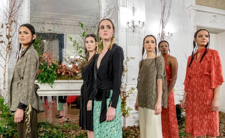 Mucho color y propuestas innovadoras en el IV Desfile 'Green' en el Palacio Miramar