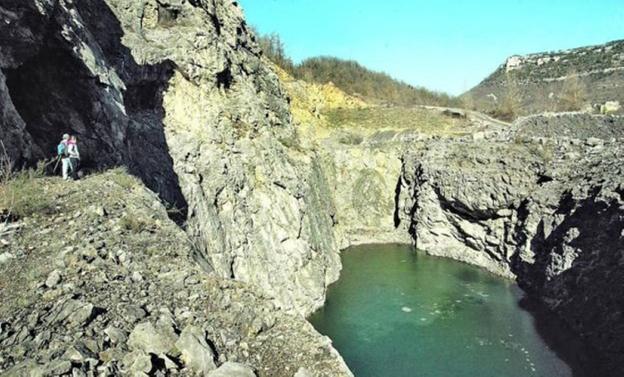 La Diputación reserva 870.000 euros para rehabilitar las minas de Atauri - Diario Vasco
